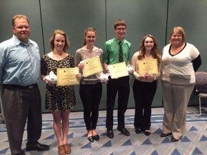 2015 Bus Econ Scholarship winners